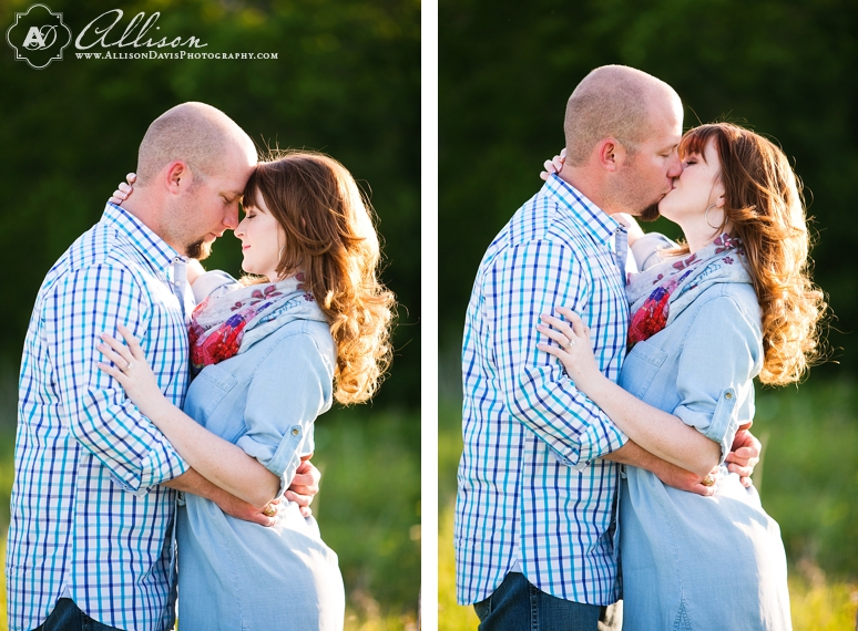 Taylor Joey Prosper Texas Country Engagement Portraits by Allison Davis Photography 014 <span>Taylor & Joey:</span><br/>Engagement Portraits in Prosper, Texas