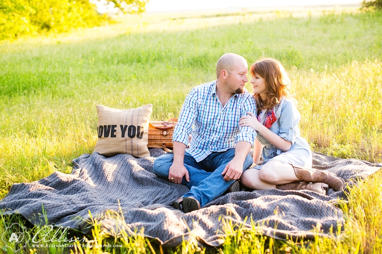 Taylor Joey Prosper Texas Country Engagement Portraits by Allison Davis Photography 024 <span>Taylor & Joey:</span><br/>Engagement Portraits in Prosper, Texas