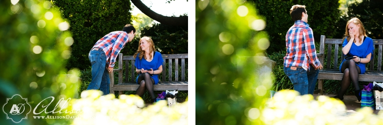 Corey Sarah Proposal Photography at the Dallas Arboretum by allison Davis Photography 02 <span>Corey & Sarah:</span><br/>Dallas Proposal Photography